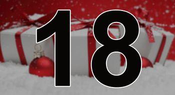 Nok en dag nærmere jul, og en ny luke er åpnet i kalenderen