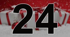 O jul med din glede! Her er årets siste kalenderluke