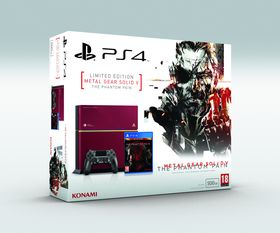 Limited PlayStation 4: Metal Gear Solid V: The Phantom Pain Edition.