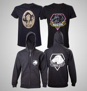 Disse Metal Gear Solid V-klærne følger også med.
