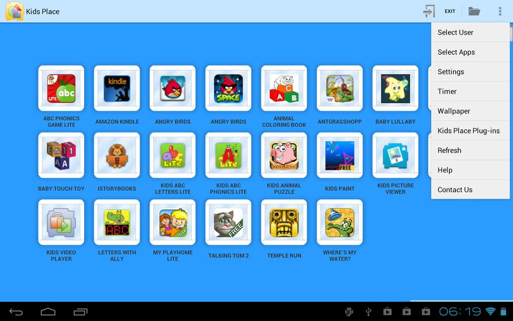 Kids Place til Android gir deg full sandkasse-modus som kun gir barna tilgang til det du tillater (Bilde: Google Play).