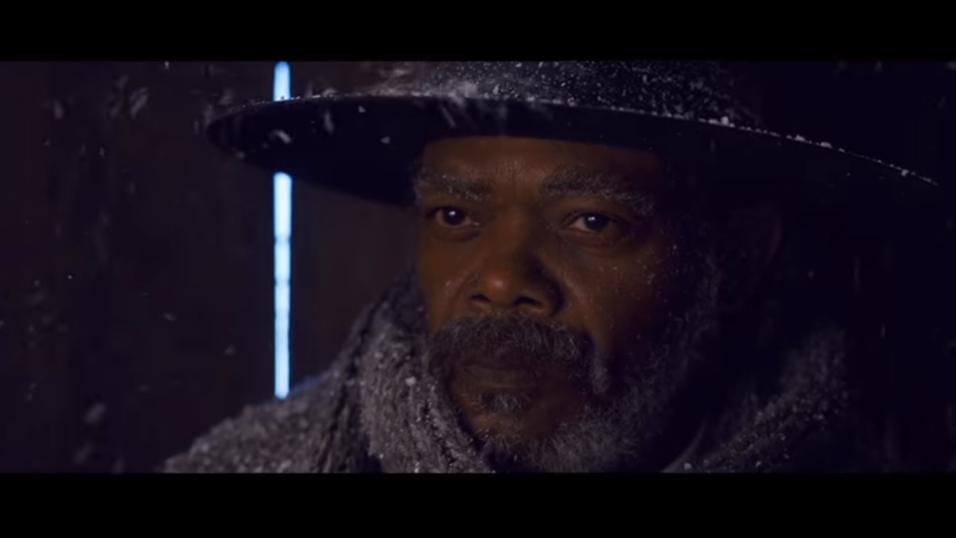 Piratene som lekket The Hateful Eight beklager tilsynelatende handlingene sine. Dette er et skjermbilde fra traileren.