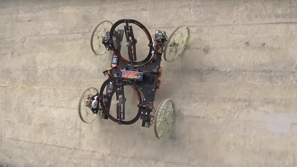 Her er roboten i aksjon.