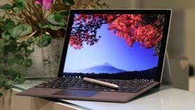 Microsoft Surface Pro 4 er et proffbrett med penn.