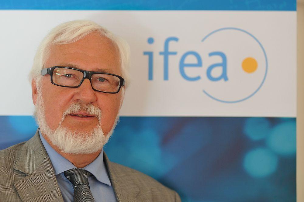 Ragnar G. Stokke hos Yara International er nytt æresmedlem i Ifea (arkivfoto).