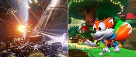 Dette er de to spillene som følger med dersom du forhåndsbestiller.