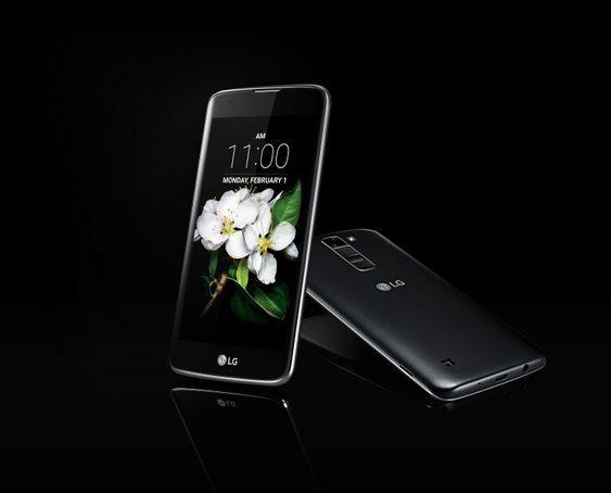 LG K7 får mindre tekstur på baksiden, men er fortsatt lekker.