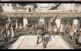 Et lekket bilde av det som etter alt å dømme var Osiris.