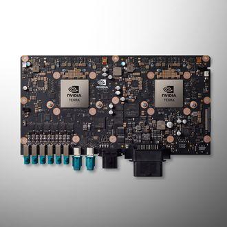 Nvidia Drive PX 2 er datamaskinplattformen som er installert i alle Teslas nye biler.