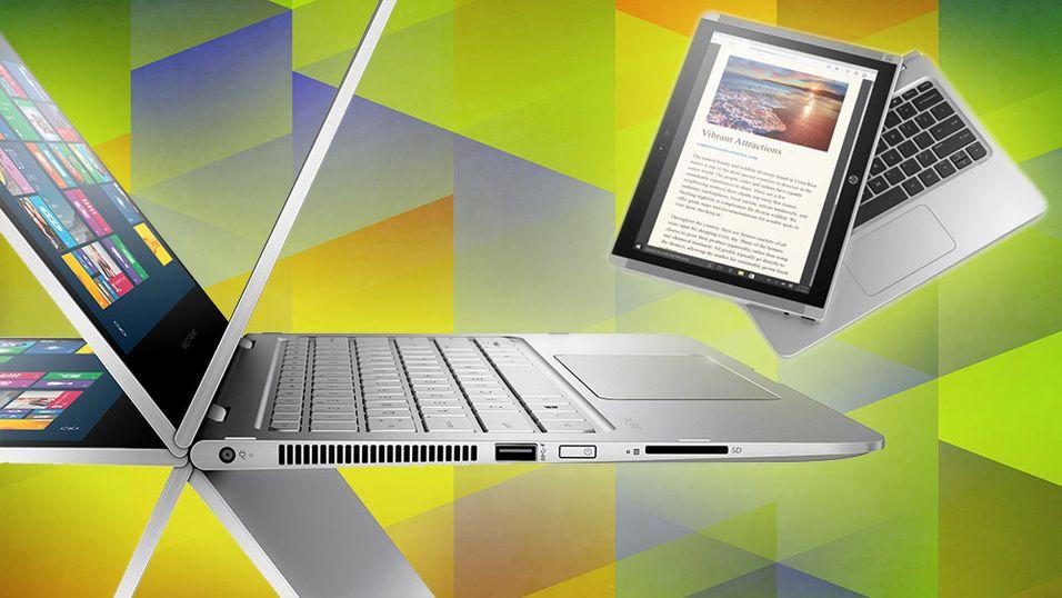 HP har vist frem nye hybridmaskiner.