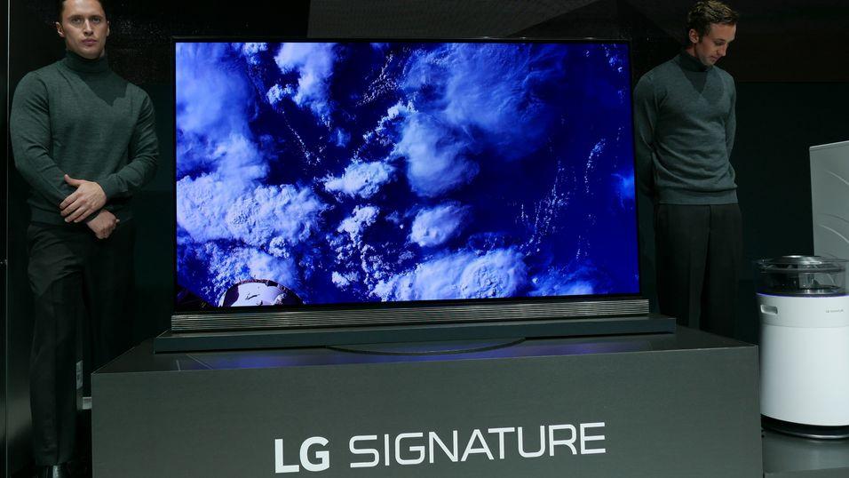 LGs OLED-toppmodell G6 er blant de trygge smart-TV-kjøpene i 2016, ifølge Netflix.