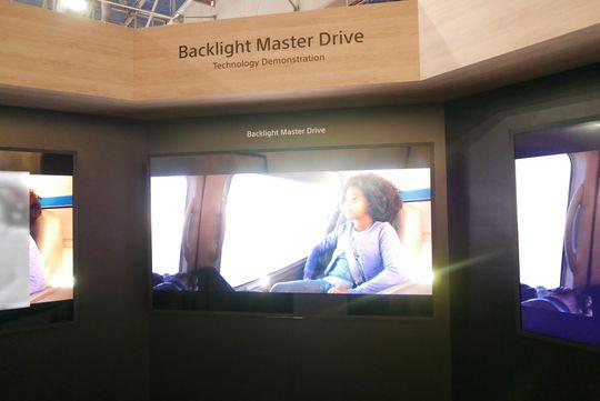 Backlight Master Drive har blendende lysstyrke.
