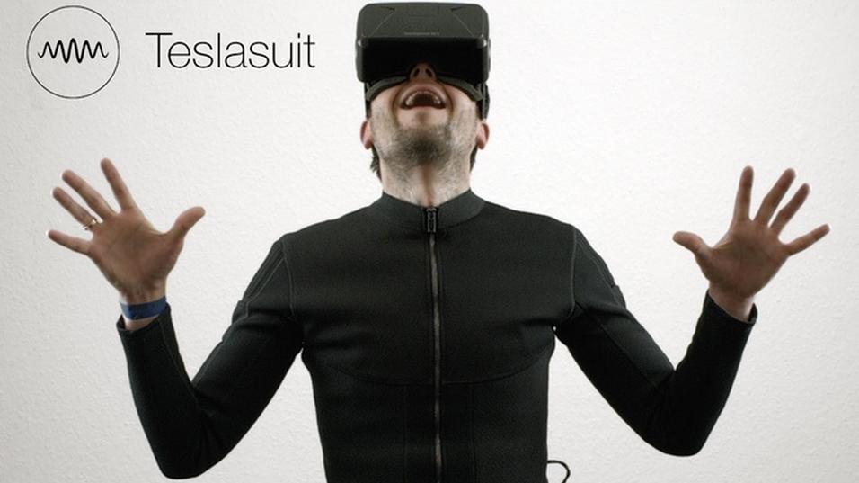 Teslasuit skal gi deg en mer realistisk VR-opplevelse.