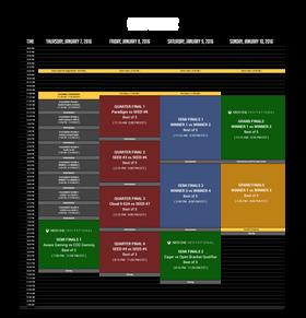 Slik ser programmet for helgen ut.