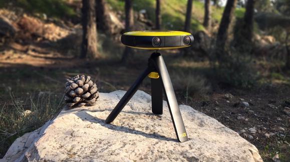 Med dette kameraet kan du lage video til VR-brillene dine