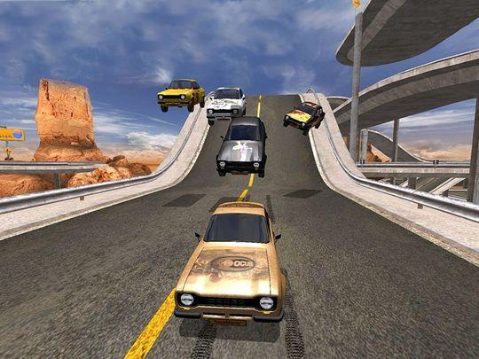 TrackMania kom i 2003. Den første prototypen ble laget av Olivier Torreilles.