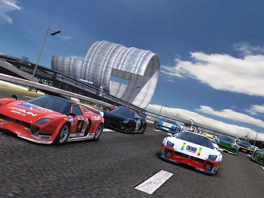 Et av TrackMania Sunrise-miljøene i TackMania United Forever.