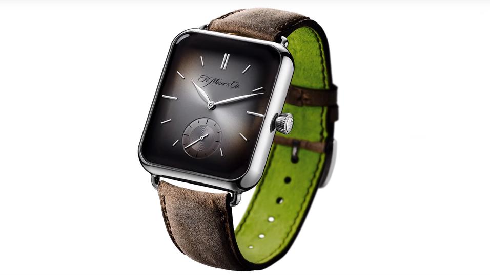 Slik ser den knalldyre klokken ut.