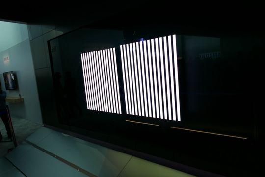 Sette sammen to skjermer så har du en gigantisk 16:9-TV.