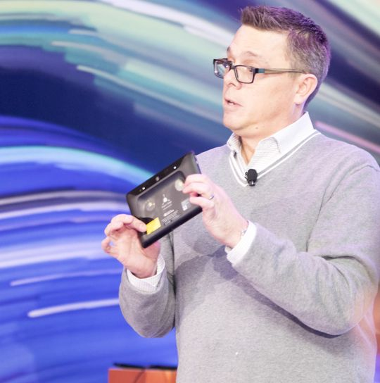Jeff Meredith i Lenovo tror Project Tango vil innlede en ny mobilrevolusjon.