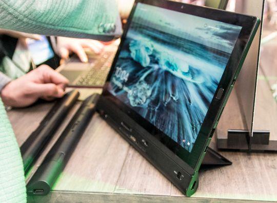 Det finnes flere moduler som kan brukes sammen med ThinkPad X1 Tablet, men du kan kun bruke én om gangen.