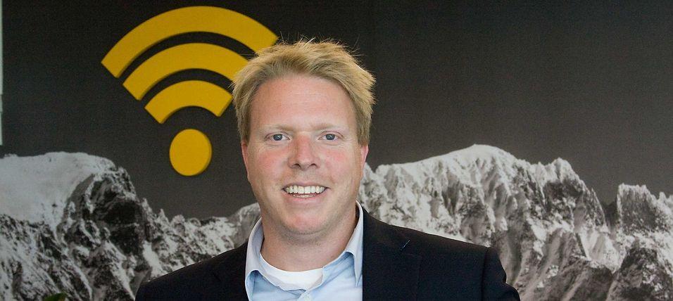 Ice-sjef Eivind Helgaker har fått tilført 429 millioner kroner fordi raskere vekst enn opprinnelig planlagt koster.
