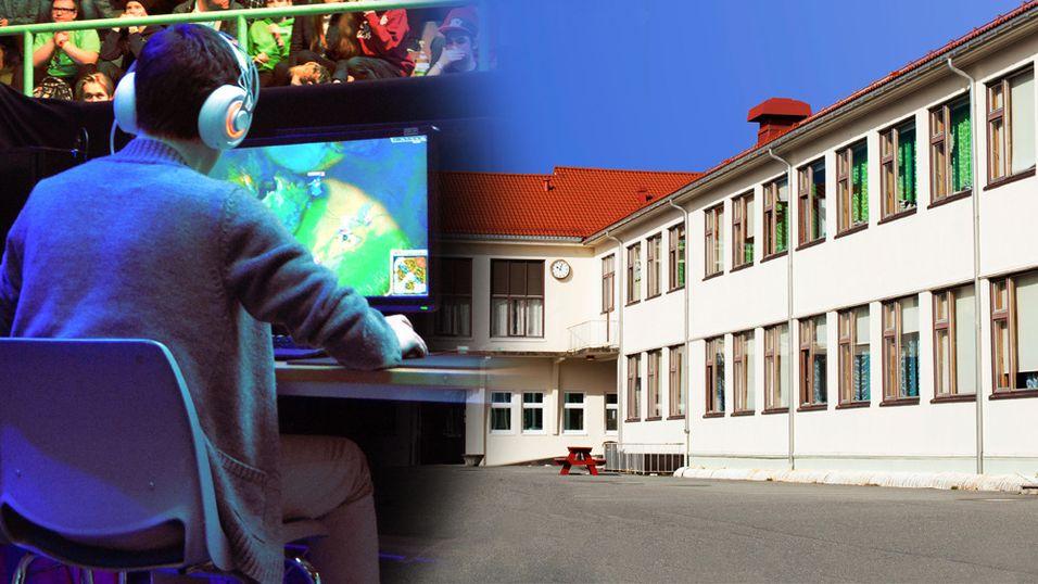 E-SPORT: Dette skal bli Norges første videregående skole med e-sport på timeplanen