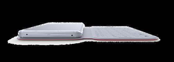 Dekseleter svært tynt, til tross for at det altså er et helt tastatur der inne.