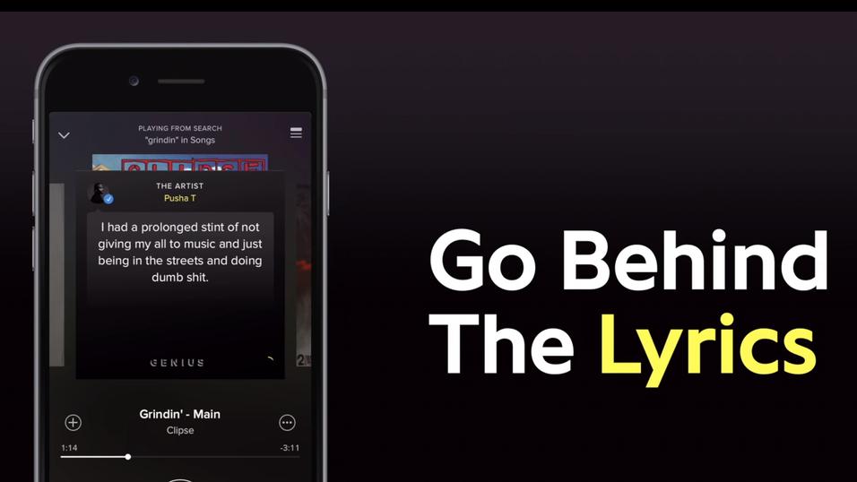 Den nye funksjonen serverer deg informasjon om musikken under avspillingen.