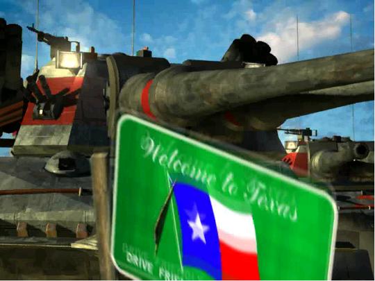 Velkommen til Texas.