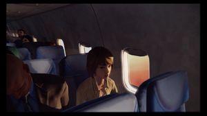 Man får utforske mange rare plasser med Max, her ombord på et fly.