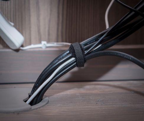 Borrelås gjør det enklere å fjerne eller legge til utstyr.