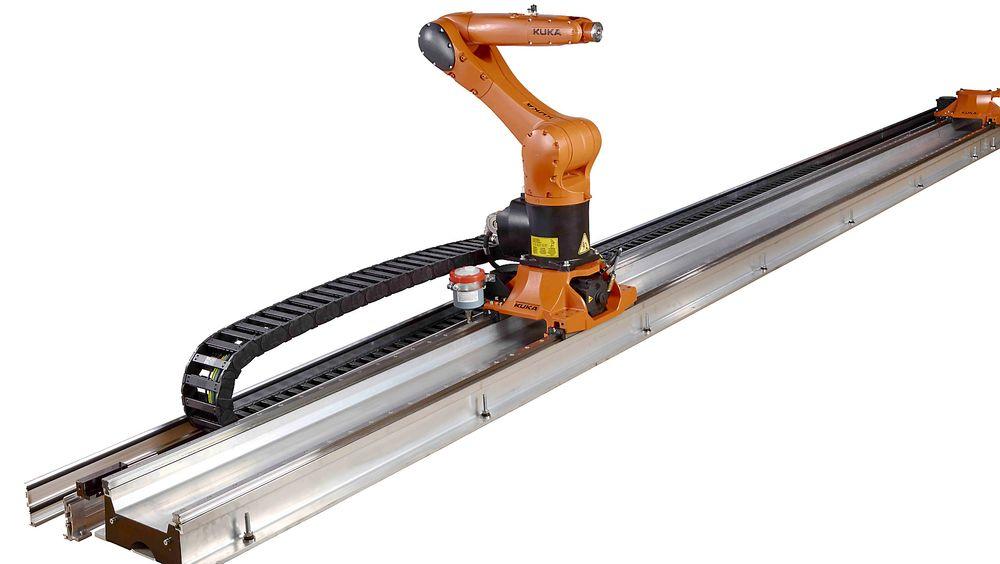 Små roboter med sikker lineærenhet