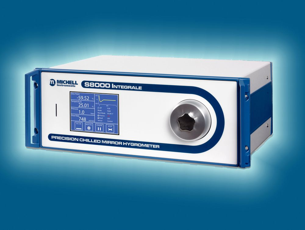 Michell S8000 hygrometer, IKM Instrutek