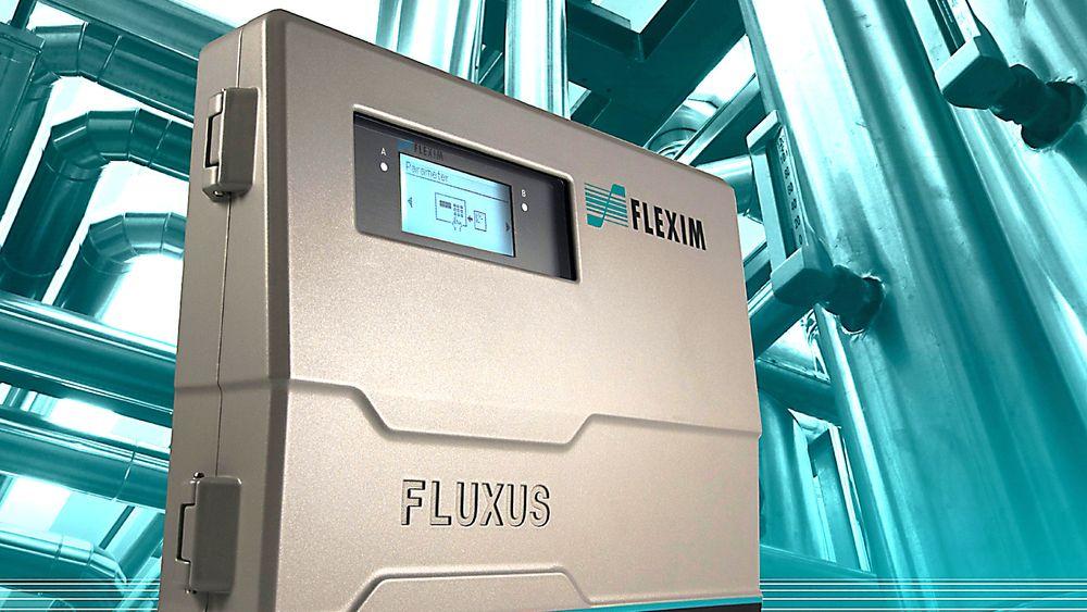 Fluxus F/G721  for clamp-on ultralyd flowmåling av væske og gass