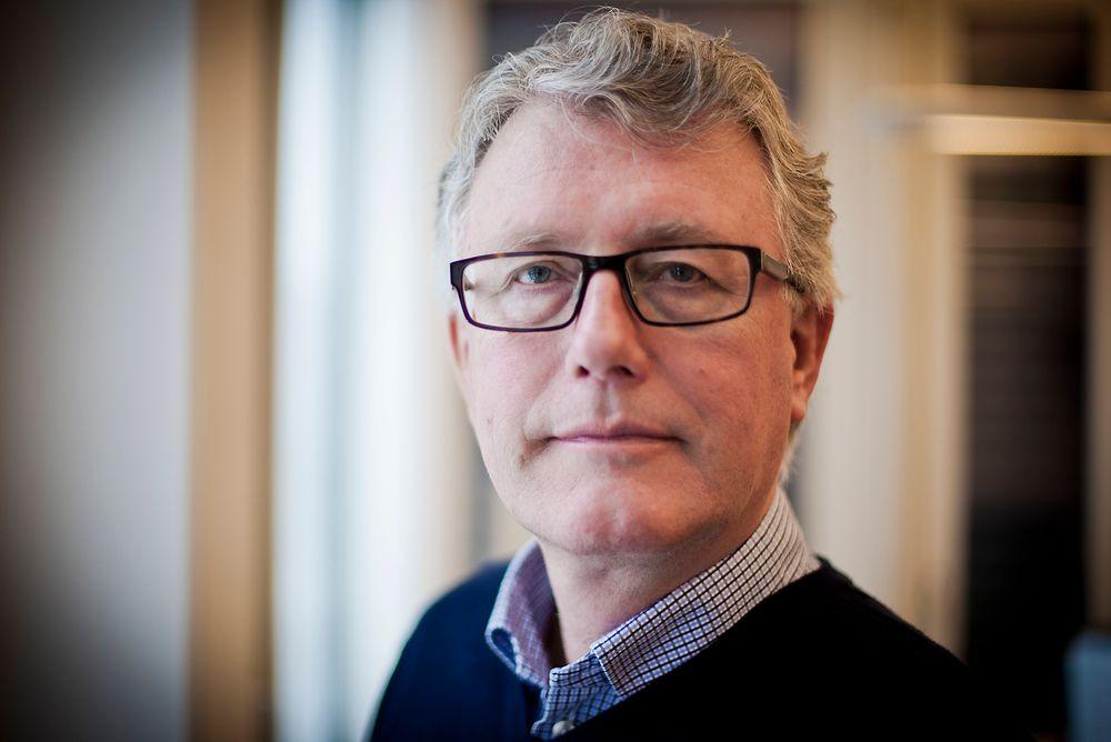 Tore Strandskog rykker opp fra å være næringspolitisk direktør i bransjeforeningen Nelfo til å bli det samme i landsforeningen Nelfo.