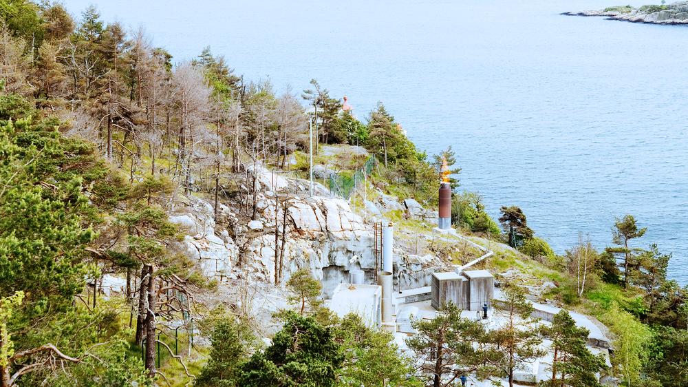 Kloakkrenseanlegget på Odderøya skal nå utvides og oppgraderes for å kunne håndtere avløp fra opp til 136 000 personer. Foto: Kai-Wilhelm Nessler / NN / Samfoto