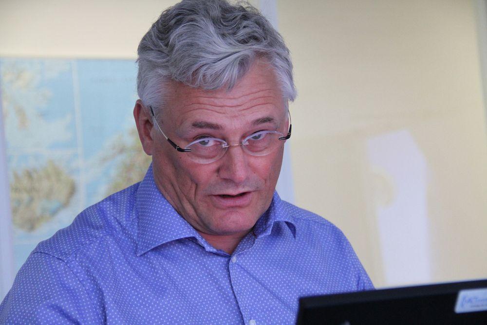 Jan Erik Evanger, administrerende direktør i APX Systems
