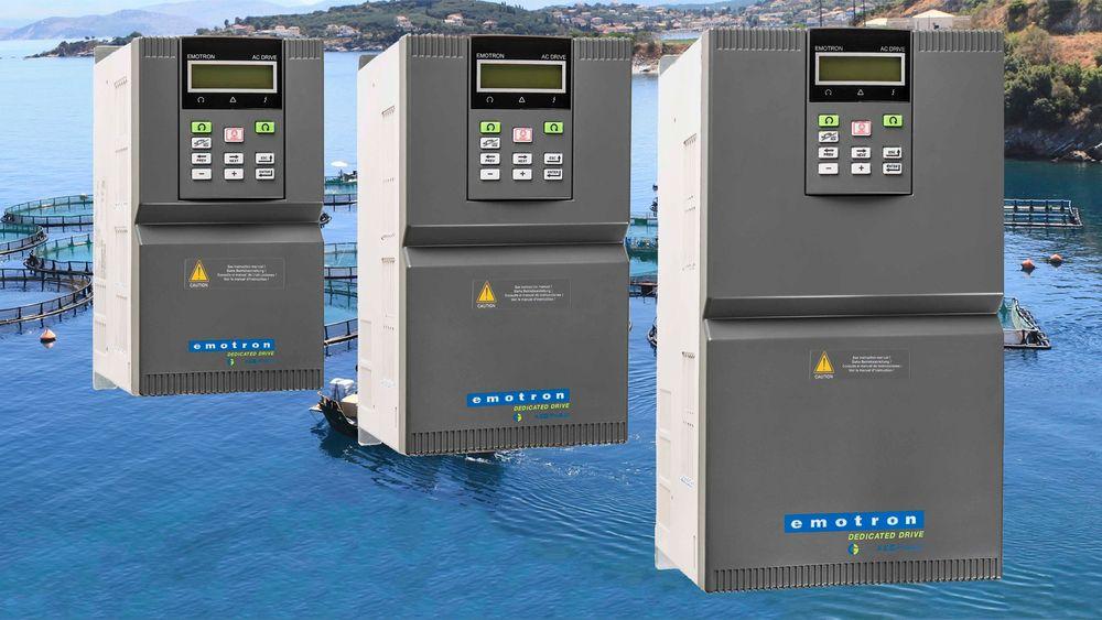 Emotron IP20 frekvensomformere distribuert av Elteco