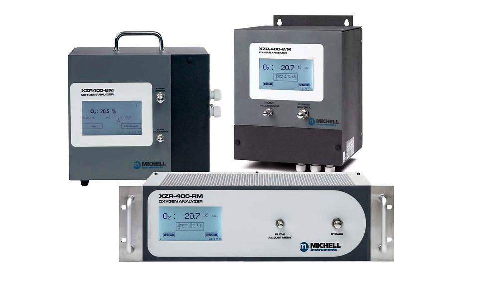 XZR400TS oksygenanalysator fra Michell, distribuert av IKM Instrutek.