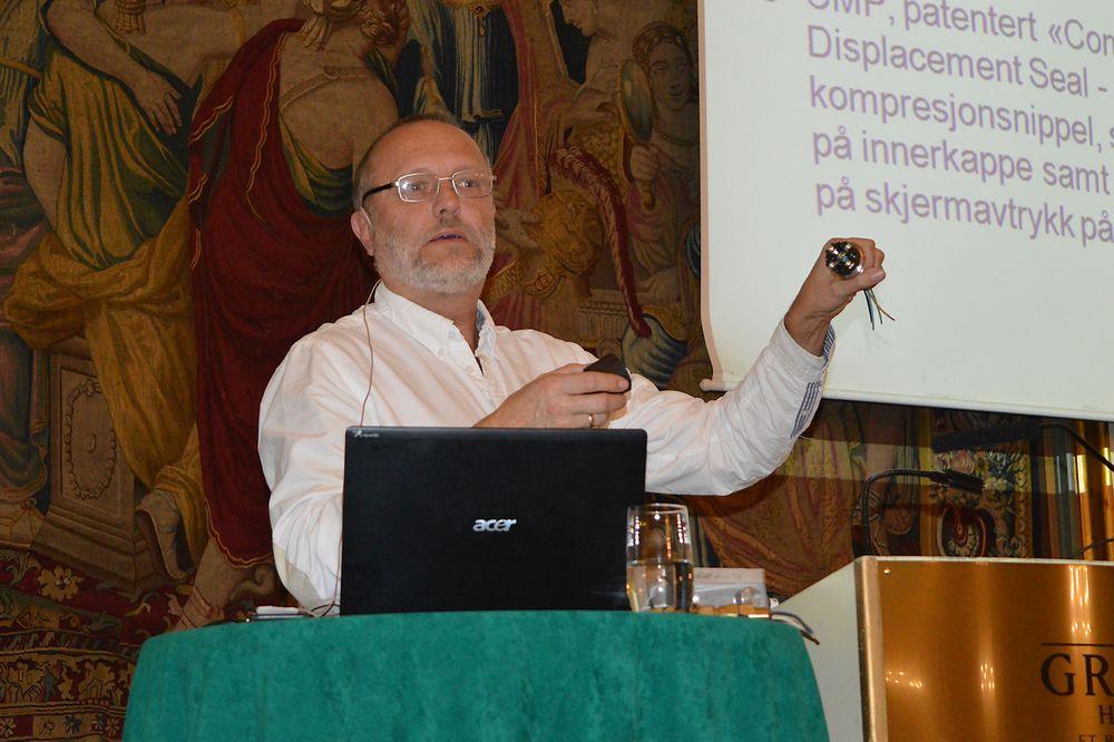 Arild Nordø, leder av Ifeas Ex-utvalg, Siemens