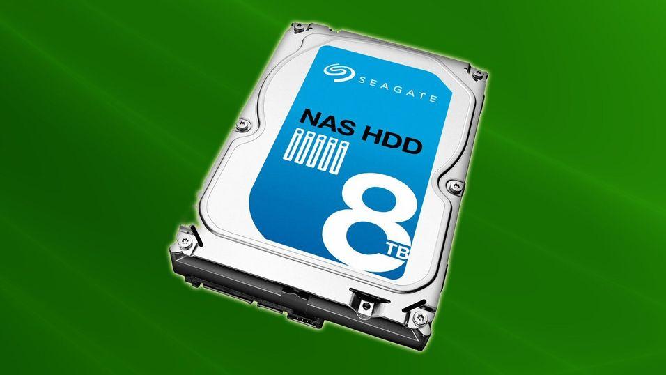 Seagate har åtte terabyte til NAS-en din