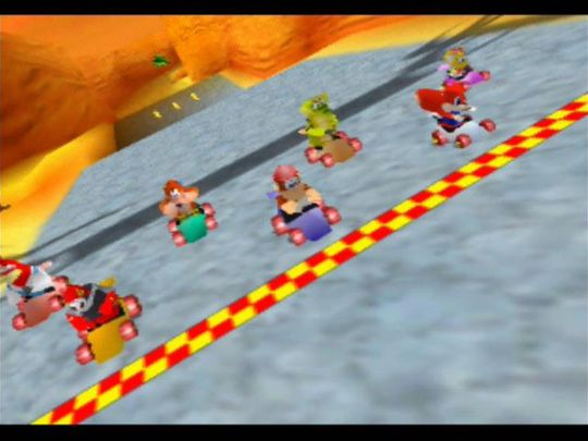 «The Diddy Laugh» spores tilbake til Diddy Kong Racing fra 1997.