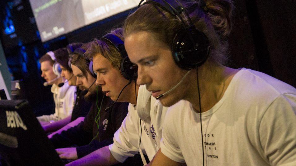 London Conspiracy i aksjon mot Oslo Lions i finalen av Telenorligaen høsten 2015.