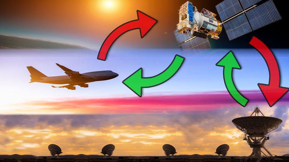 GUIDE: Slik virker Internett på flyet
