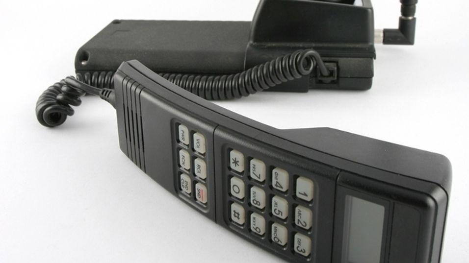 Mange husker de gamle NMT 450-telefonene med glede. 450-nettets overlegne dekning gjorde dem til et innlysende førstevalg på hytta.