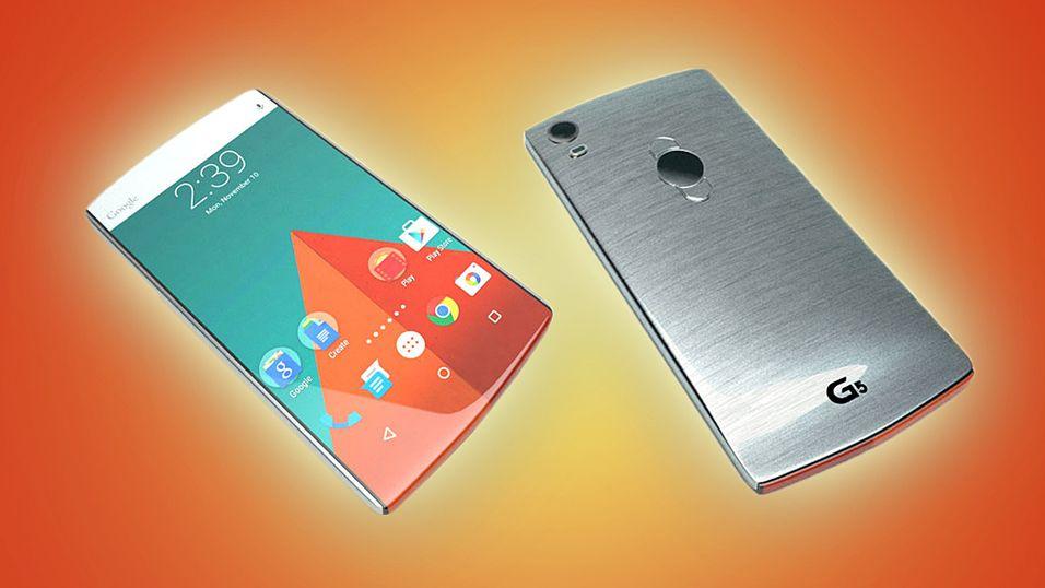 Blir LG G5 seende slik ut? Det mener hvertfall en konseptdesigner.