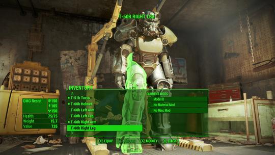 På grunn av konstante oppfordringer gjennom operant betinging, frister det som regel å leke seg med de bakomliggende systemene i Fallout 4.