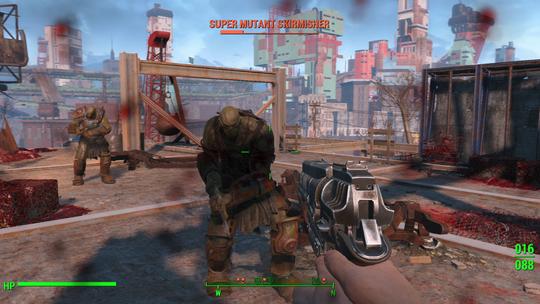 Fallout 4 er et spill som bygger på tilfeldigheter.