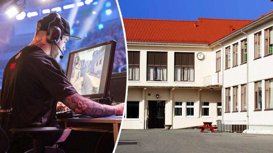 E-SPORT: Internasjonal interesse for e‑sport på videregående skole i Norge